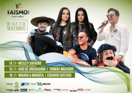 ​Anunciados os shows da Faismo 2019